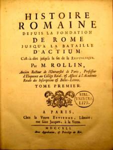 "Charles Rollin ""Histoire Romaine"""